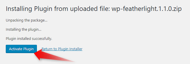 Activate Plugins on WordPress