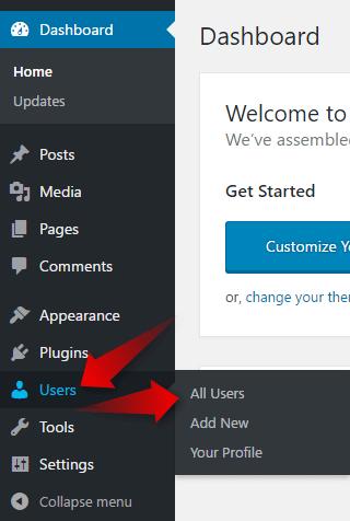 How to Change WordPress Password