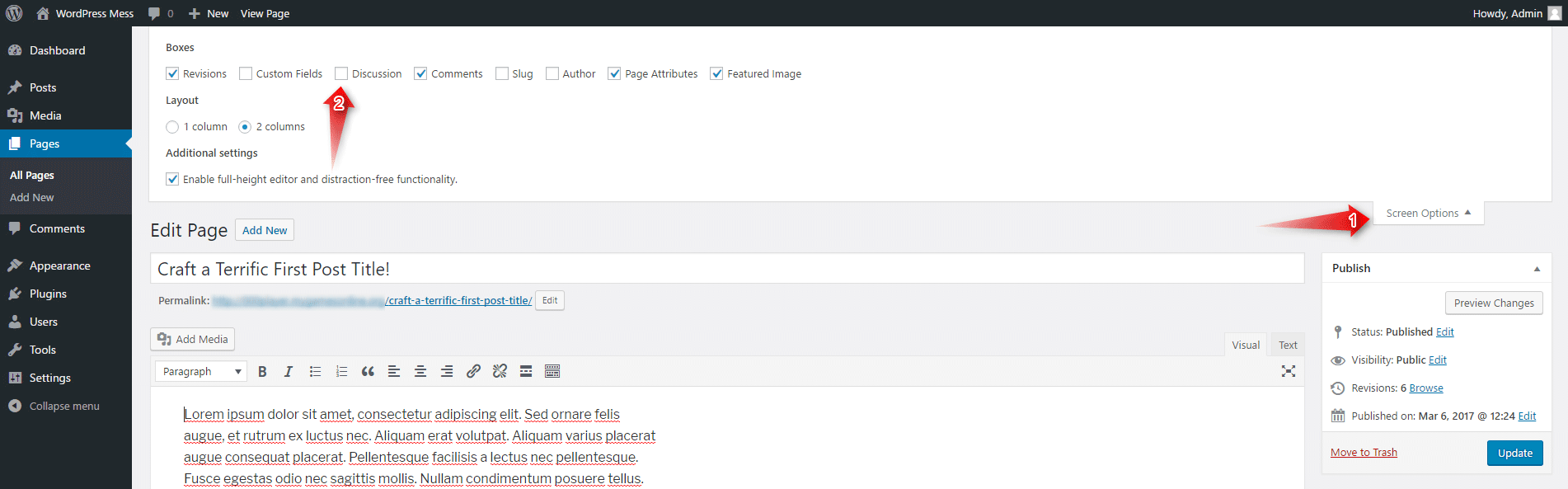 WordPress turn off all comments