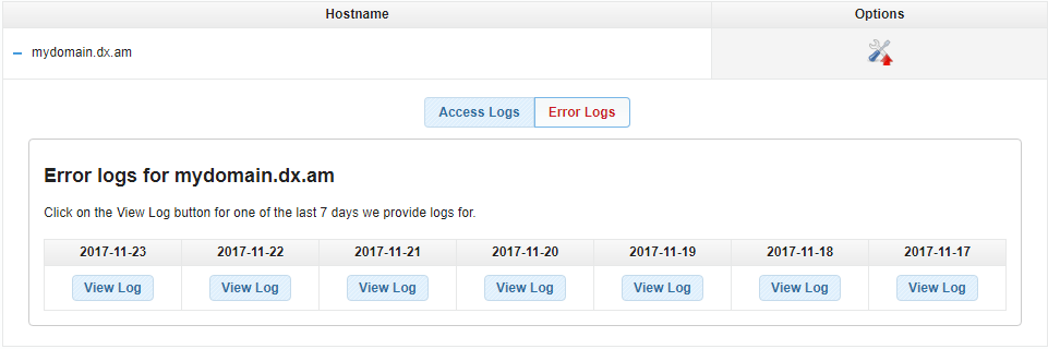 access and error logs 2
