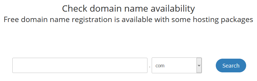 register a domain name 1