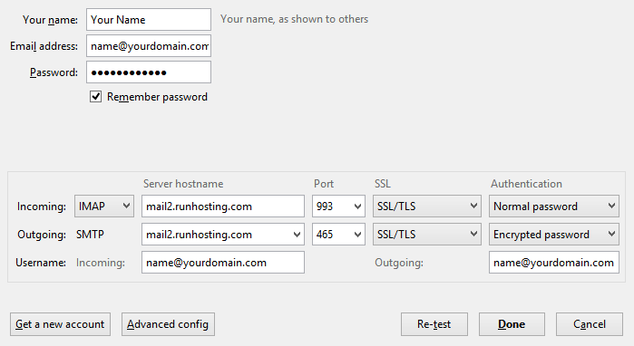 email account settings 8