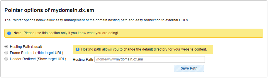 domain redirect 1