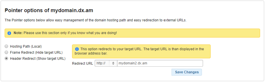domain redirect 3