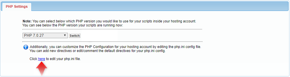 php settings 3