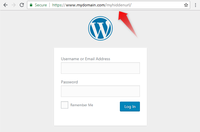secure wordpress admin panel 4