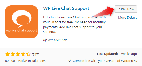 how to add live chat to wordpress 2