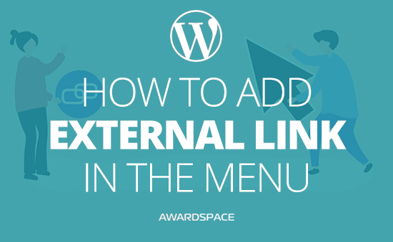 How to add External Link in the Menu