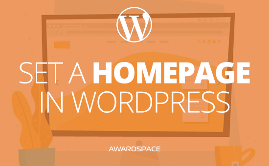 How to set a Home Page in WordPress