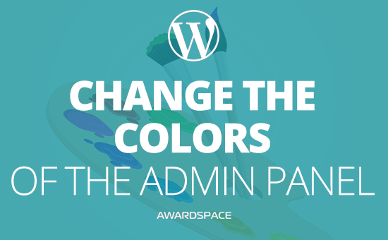 WordPress Admin Panel – How to Change the Color Palette
