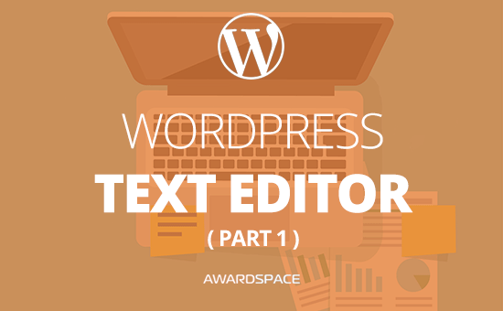 WordPress Text Editor – How to Use it (Part 1)