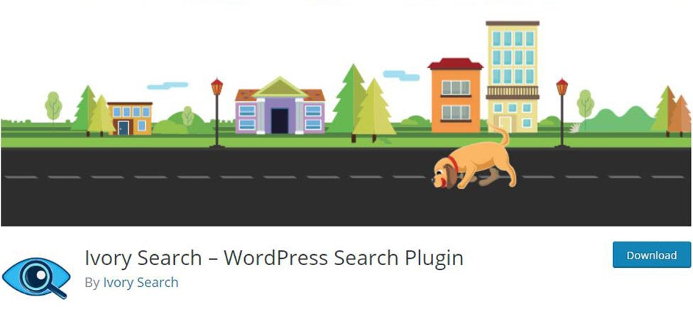 Ivory Plugin - Search in WordPress