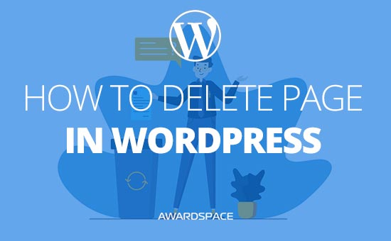 How to Delete WordPress Page